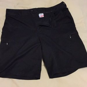 Izod black men's shorts